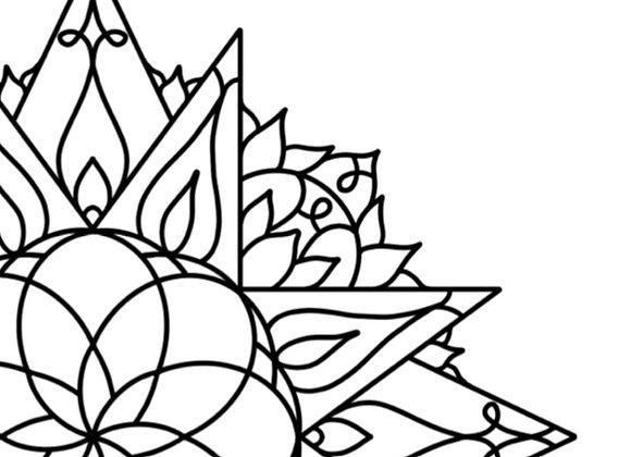 Mandala Book Elfy