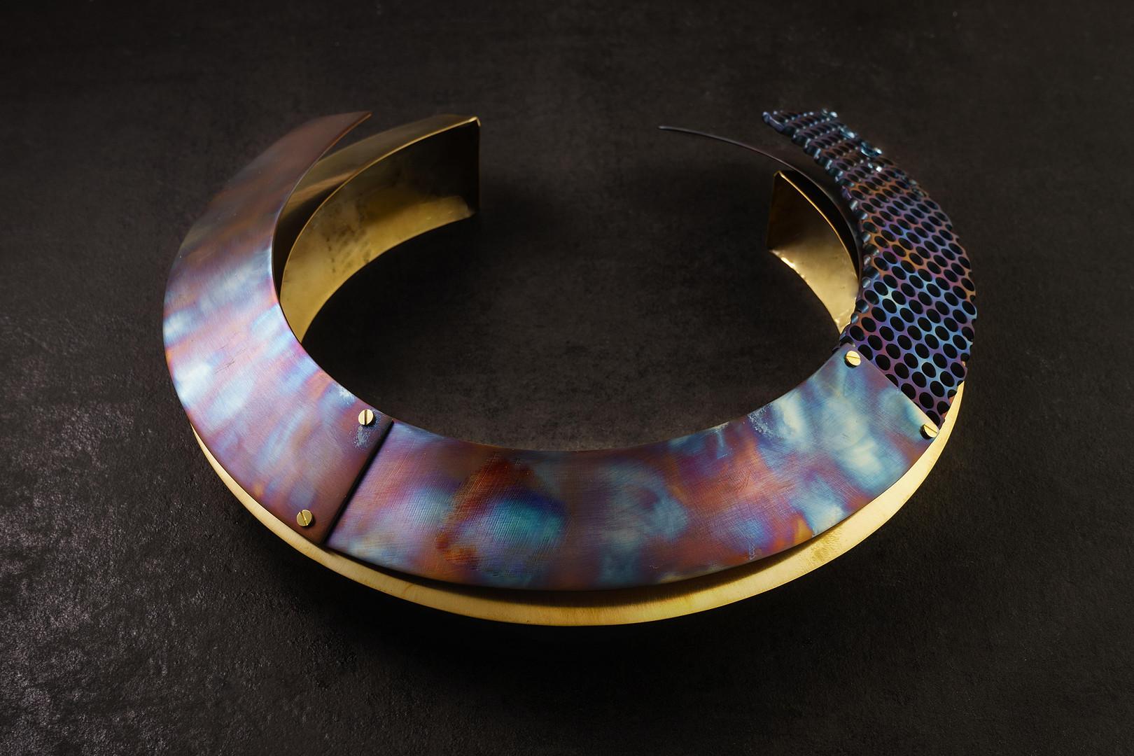 galaxy neckpiece