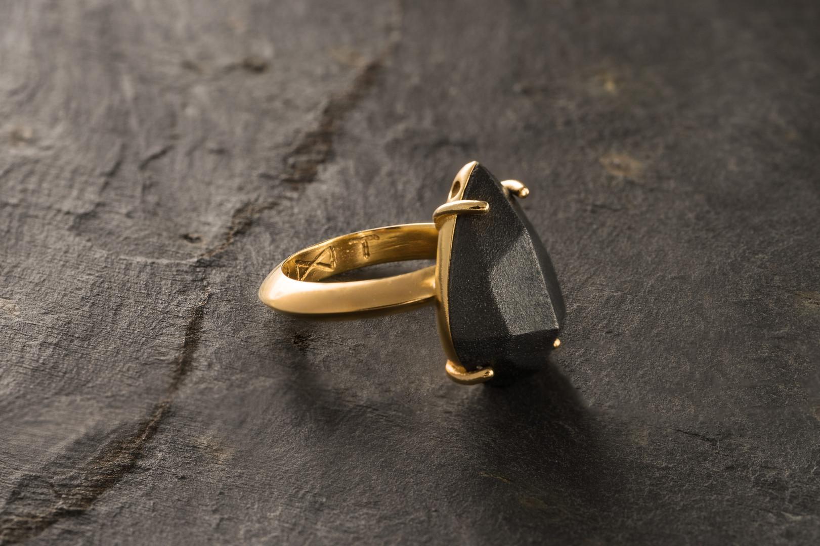 black tear ring