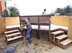 Custom Built decking installation