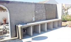 Outside Braai Construction