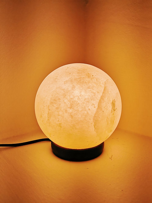 Himilayan Salt Lamp - Sphere