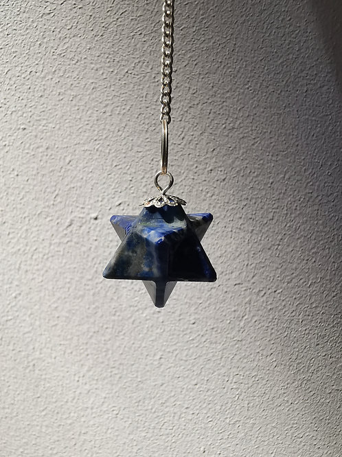 Blue Dowsing Crystal