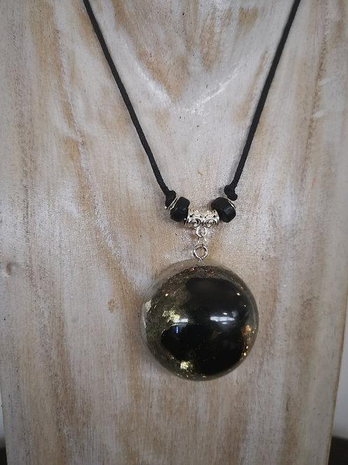 Shungite infused Orgone Necklace