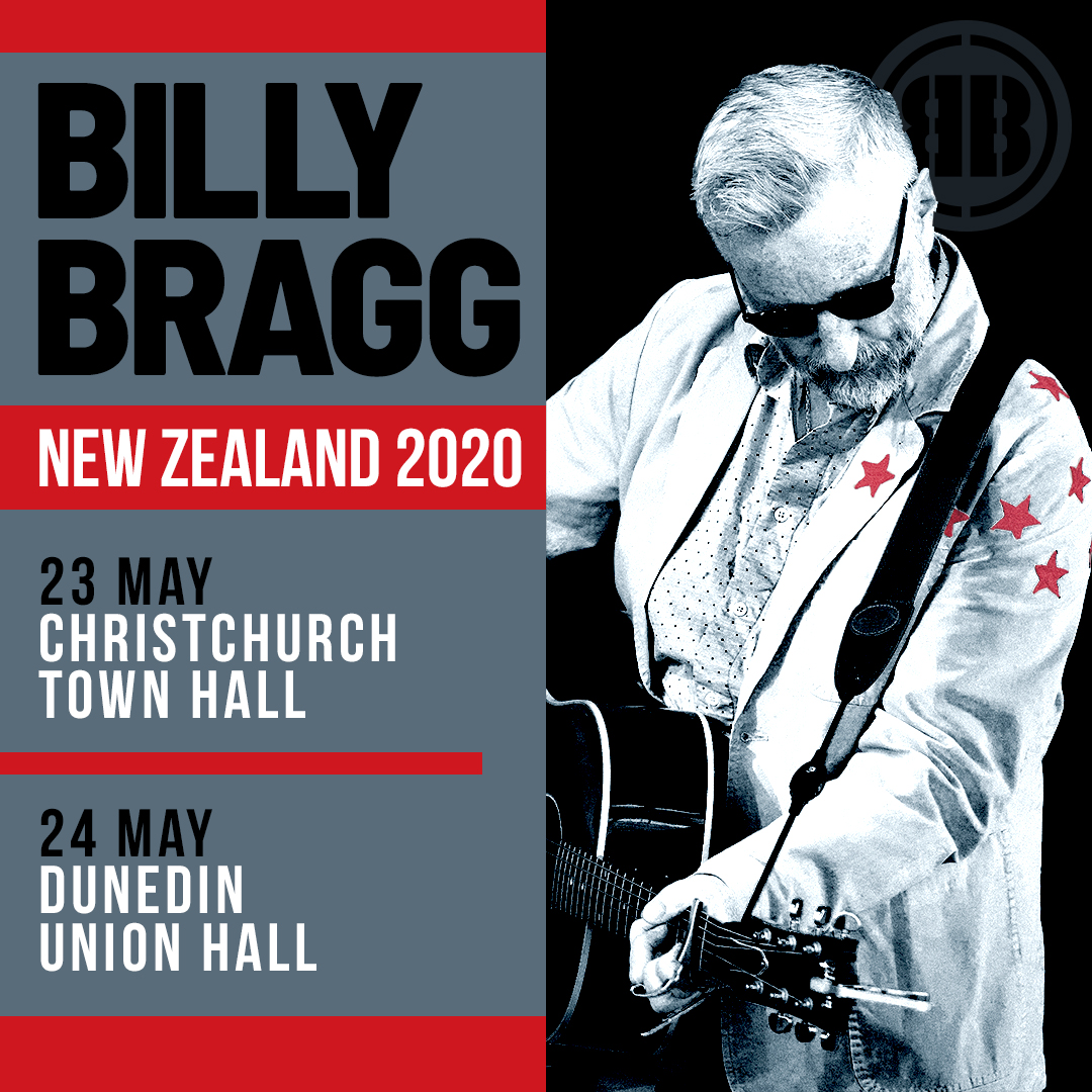 Billy Bragg 2020 Tour
