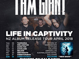 I AM GIANT add a second Christchurch show to final NZ tour