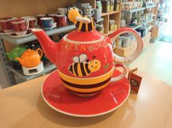 "Tea-for-one-Set ""Green World"""