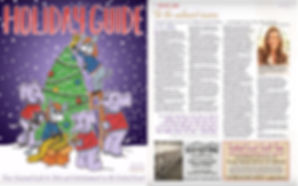 Vanessa Swier LCSW from Hope Harmony Healing New Times Holiday Guide article