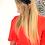 Thumbnail: קשת קלואי שיפון כחול נייבי