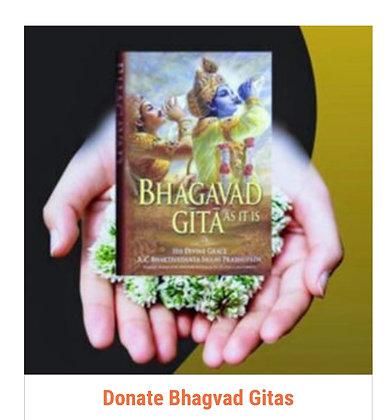 Donate Bhagavad Gita: Shastra Daan (₹200 per copy)