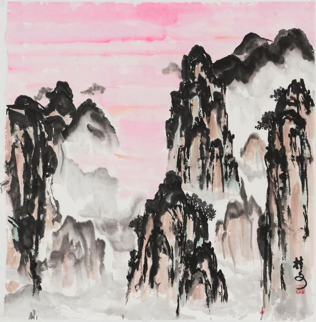 張家界 Zhangjiajie 69 x 69 cm