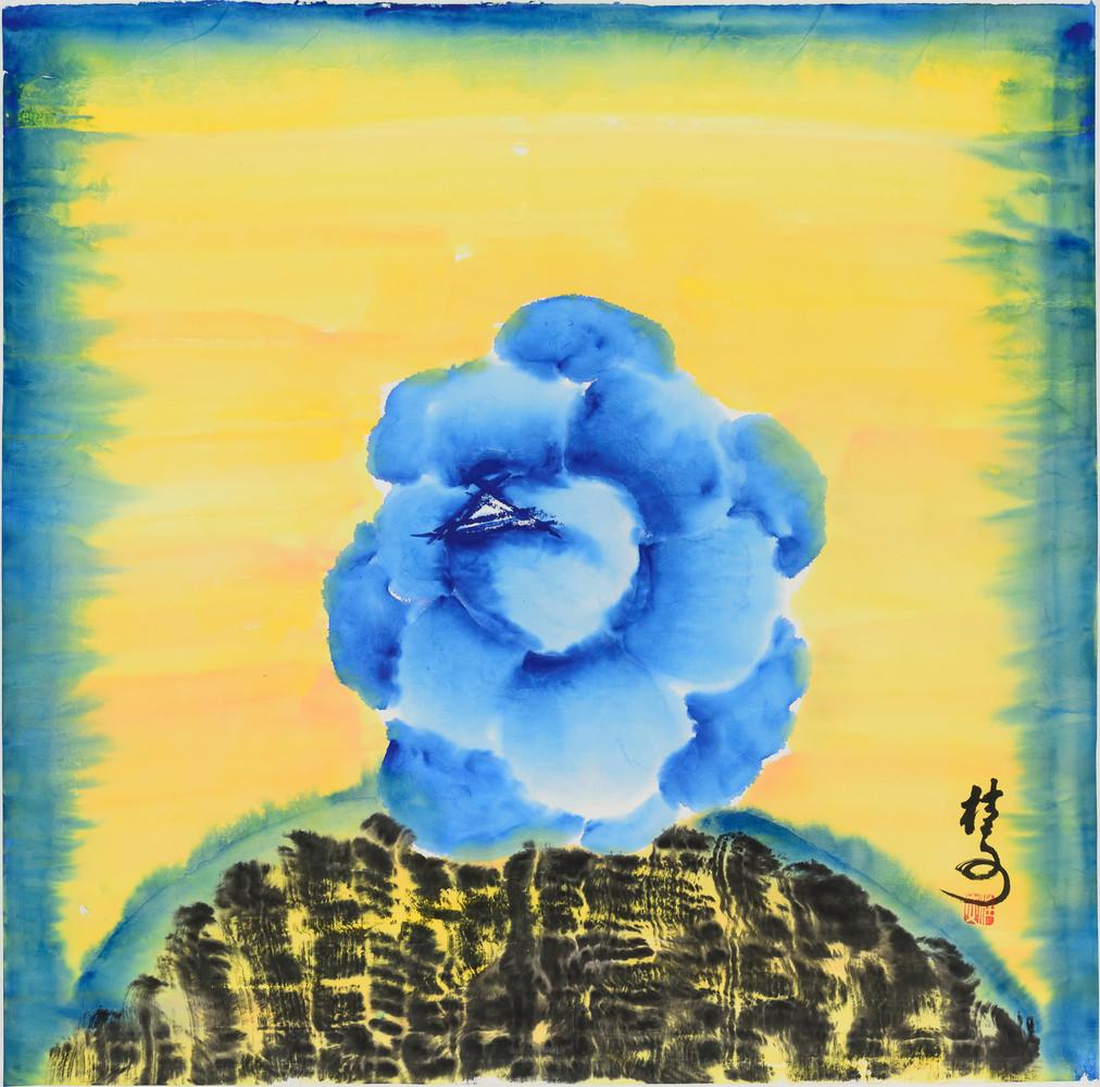 玫瑰 Rose. 69 x 69 cm