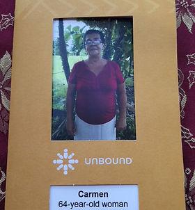 Carol Unbound Sponsor of Carmen in Costa