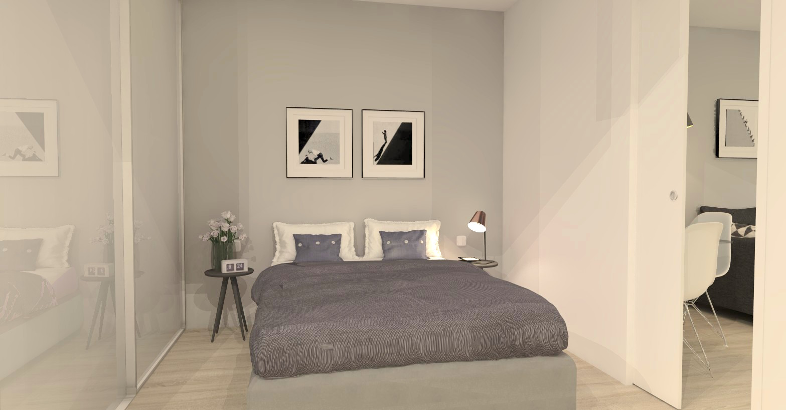 unit a - bed 2