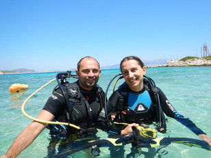Diving for couples