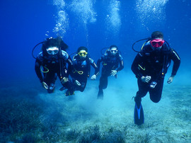 Fantastic Four Underwater