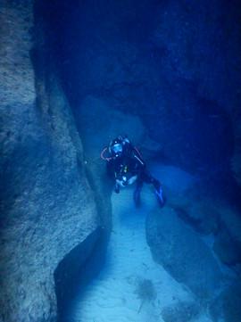 Underwater Cave
