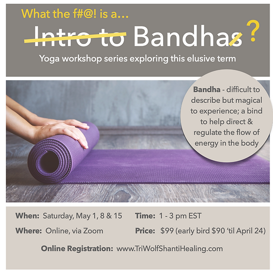 INTRO TO YOUR BANDHAS - WHAT ARE THEY?