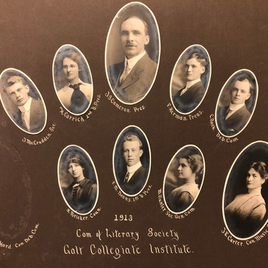 Literary and Musical Society General Committee, 1913