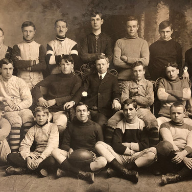 Rugby Team, 1909