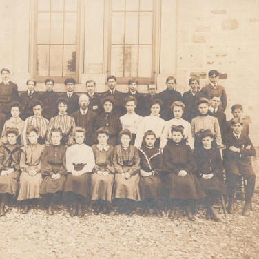 First Form Class, 1905-1906