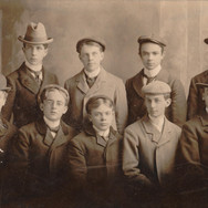Unknown group of GCI boys, c. 1910.