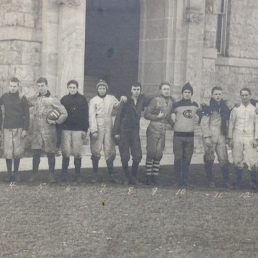 Rugby Team, 1911