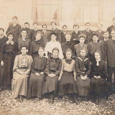 Senior Third Form Class, 1905-1906