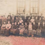 Second Form Class, 1905-1906.