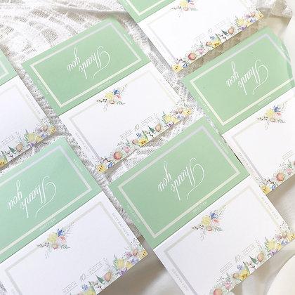 2つ折り name card
