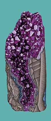 'Amethyst Geode'