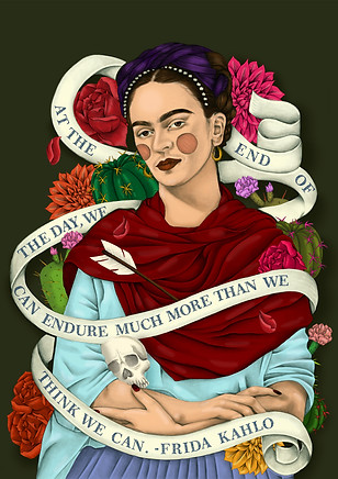 Frida Kahlo- International Womens day.