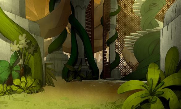 Oasis animation background