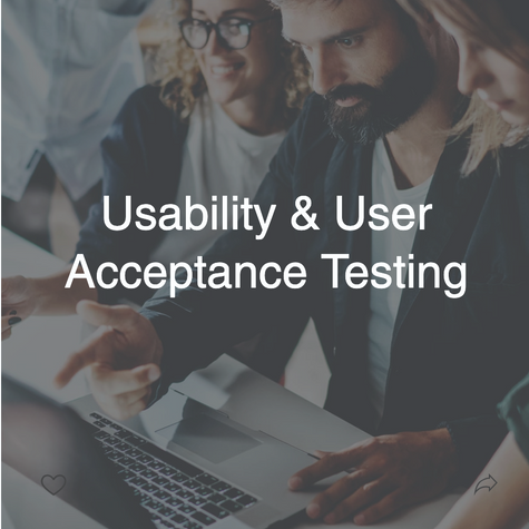 Usability Testing and User Acceptance
