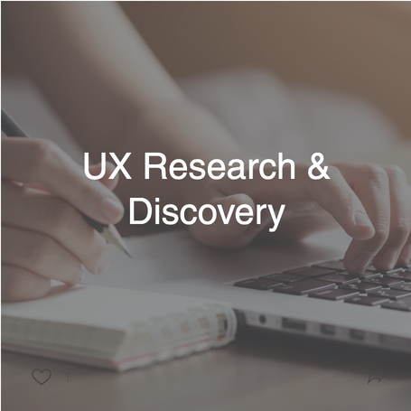 UX Research & Discovery