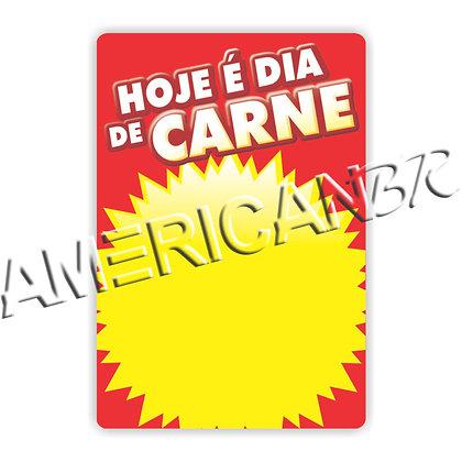 Cartaz Hoje é Dia de Carne