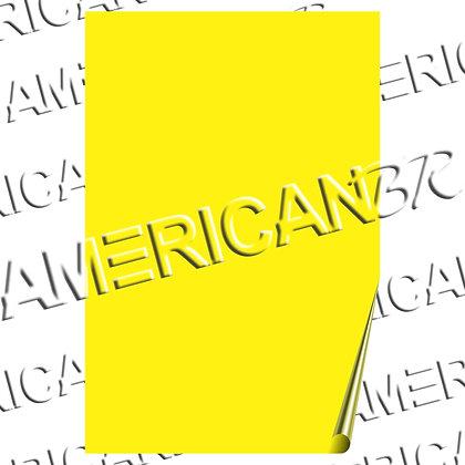 Papel Amarelo 76x112cm Cód 144