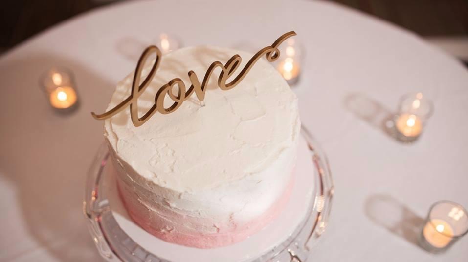 Cutting Cake for Wedding