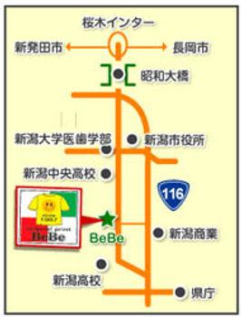 BeBe地図