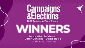 The Colibri Collective Named Best In Innovative Virtual Voter Contact