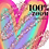 Thumbnail: Rainbow Hearts Clipart - Sublimation rainbow heart - Valentines Clip Art