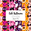 Thumbnail: Pink Halloween Digital paper - pattern Halloween - cute Halloween Paper