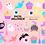 Thumbnail: Halloween Clipart, Pastel Halloween Clipart, Pink halloween - Pink Pumpkin