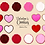 Thumbnail: Valentine's Day Cookie Clipart, Valentine clipart, Cookies with sprinkles