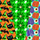 Thumbnail: Drive by Halloween Digital paper - pattern Halloween - cute Halloween Paper