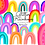 Thumbnail: Rainbow clipart - Glitter Clipart - printable stickers - Scrapbook printable