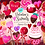 Thumbnail: Valentine's Day Clipart, Valentine Sweets, Heart cookies, strawberry chocolate