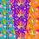 Thumbnail: Cute Mermaids Digital Paper Set-Seahorse-Shells-Starfish-Coral
