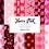 Thumbnail: Pink Christmas Digital Paper - Christmas Pattern - Designer Digital Paper Set