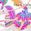Thumbnail: Pink Circus clipart, Carnival Clip art, Circus Graphics, Big Top, Glitter